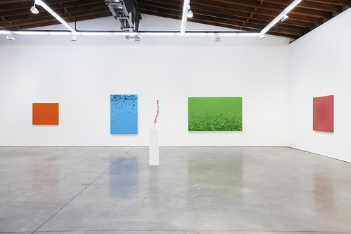 Month In Pictures Tom Friedman at Luhring Augustine Bushwick. Image for Tom Friedman, Installation view of 'Paint and Styrofoam,' May 22 - August 8, 2014, Luhring Augustine Bushwick, New York. Courtesy of the artist and Luhring Augustine, New York.