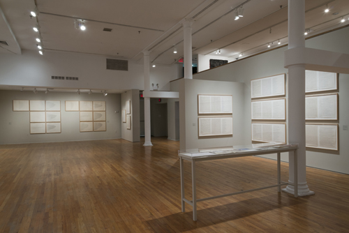 in Pictures for 'Charles Gaines: Gridwork 1974–1989' at The Studio Museum in Harlem. Image for Charles Gaines: Gridwork 1974–1989, July 27 to October 26, 2014, The Studio Museum in Harlem. Photo: Adam Reich