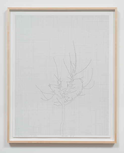 in Pictures for 'Charles Gaines: Gridwork 1974–1989' at The Studio Museum in Harlem. Image for Charles Gaines, Walnut Tree Orchard, Set 3 (version 2) (detail), 1975–2014, Photograph, ink on paper, Triptych: 29 × 23 in. each; 311⁄2 × 251⁄2 × 11⁄2 in. (framed). Courtesy the artist and Susanne Vielmetter Los Angeles Projects. Photo: Robert Wedemeyer