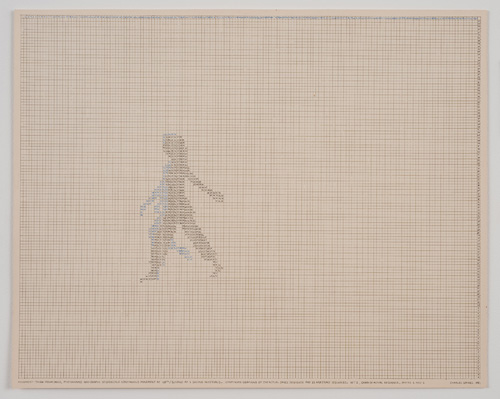 in Pictures for 'Charles Gaines: Gridwork 1974–1989' at The Studio Museum in Harlem. Image for Charles Gaines, Motion: Trisha Brown Dance, Set #1 (detail), 1980–81, Color photographs and ink on Strathmore paper Eight parts: 4 small drawings, 11 × 191⁄2 in. each; 2 large drawings and 2 photographs, 16 × 20 in. each; 31 1⁄8 × 841⁄2 × 2 in. (overall framed). Collection of James Keith Brown and Eric Diefenbach. Courtesy Susanne Vielmetter Los Angeles Projects. Photo: Robert Wedemeyer