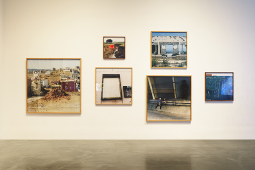 in Pictures for 'Here and Elsewhere' at The New Museum. Image for Installation view of 'Here and Elsewhere' at the New Museum, 2014. Courtesy New Museum, New York. Photo: Benoit Pailley