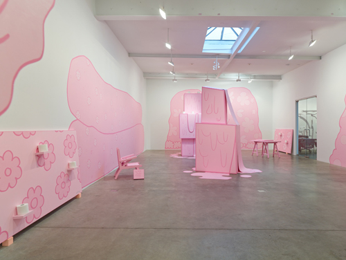 in Pictures for Lily van der Stokker: Huh at Koenig & Clinton. Image for Lily van der Stokker: Huh (installation view, Koenig & Clinton, New York). Photo: Jeffrey Sturges, New York. Courtesy the artist and Koenig & Clinton, New York