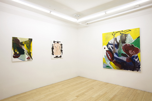 in Pictures for Tomer Aluf at KANSAS. Image for Installation view of Tomer Aluf: Thirteen at KANSAS, 2014. Courtesy the artist and KANSAS, New York