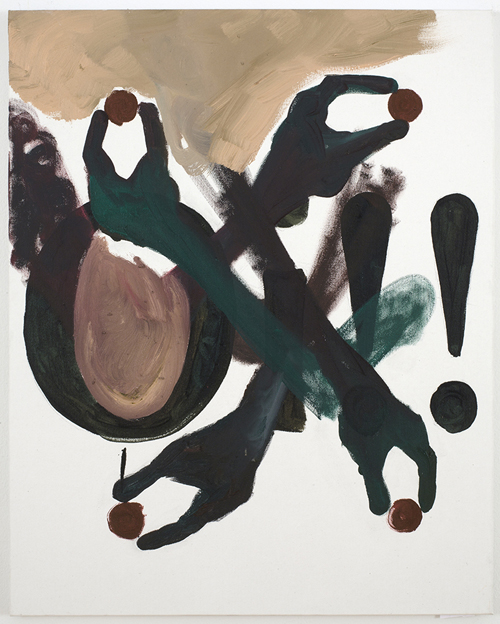 in Pictures for Tomer Aluf at KANSAS. Image for Tomer Aluf, Untitled, 2014, Oil on canvas, 30 x 24 in/ 76.2 x 61 cm. Courtesy the artist and KANSAS, New York