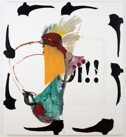 in Pictures for Tomer Aluf at KANSAS. Image for Tomer Aluf, Untitled, 2014, Oil on canvas, 60 x 54 in/ 152.4 x 137.2 cm. Courtesy the artist and KANSAS, New York