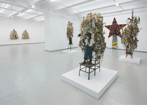 """in Pictures for Nick Cave at Jack Shainman Gallery. Image for Installation view of Nick Cave's """"Made for Whites by Whites"""" at 513 West 20th Street. Photo: James Prinz; Courtesy of the artist and Jack Shainman Gallery, New York"""