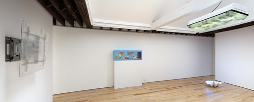 in Pictures for 'Flat Neighbors' at Rachel Uffner Gallery. Image for Installation view of 'Flat Neighbors' at Rachel Uffner Gallery, 2014. Courtesy Rachel Uffner Gallery