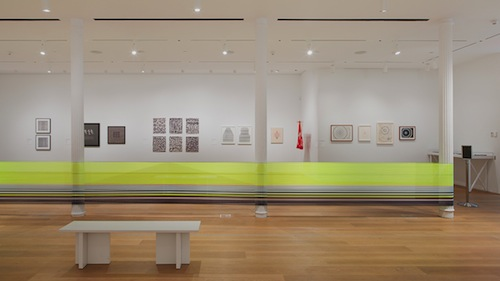 in Pictures for 'Thread Lines' at The Drawing Center. Image for Installation view of 'Thread Lines' at The Drawing Center, 2014. Courtesy The Drawing Center