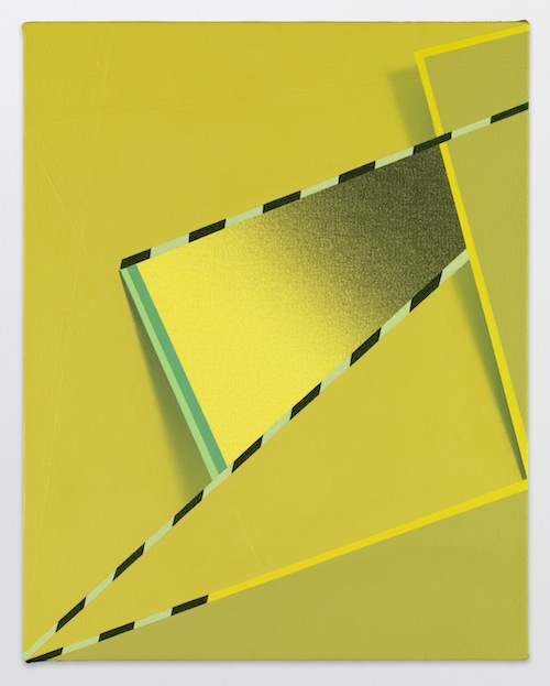 in Pictures for Tomma Abts at David Zwirner. Image for Tomma Abts, Feke, 2013, Acrylic and oil on canvas, 18 7/8 x 15 inches (48 x 38 cm). Courtesy David Zwirner, New York/London