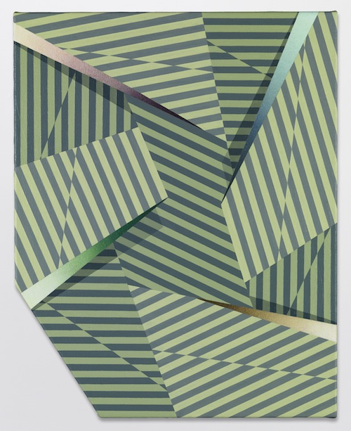in Pictures for Tomma Abts at David Zwirner. Image for Tomma Abts, Fenke, 2014, Acrylic and oil on canvas, 18 7/8 x 15 inches (48 x 38 cm). Courtesy David Zwirner, New York/London