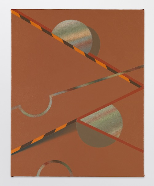 in Pictures for Tomma Abts at David Zwirner. Image for Tomma Abts, Hebo, 2013, Acrylic and oil on canvas, 18 7/8 x 15 inches (48 x 38 cm). Courtesy David Zwirner, New York/London
