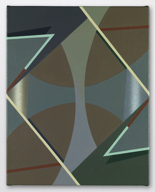 in Pictures for Tomma Abts at David Zwirner. Image for Tomma Abts, Voke, 2013, Acrylic and oil on canvas, 18 7/8 x 15 inches (48 x 38 cm). Courtesy David Zwirner, New York/London
