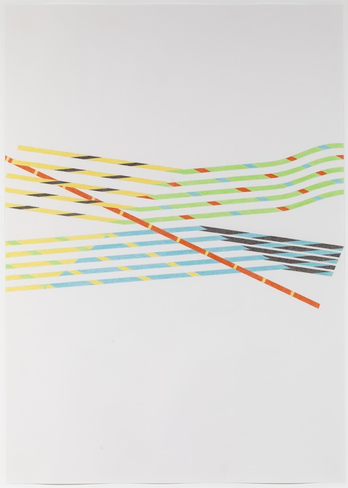 in Pictures for Tomma Abts at David Zwirner. Image for Tomma Abts, Untitled #3, 2013, Colored pencil and pencil on paper, 33 1/8 x 23 3/8 inches (84.1 x 59.4 cm). Courtesy David Zwirner, New York/London