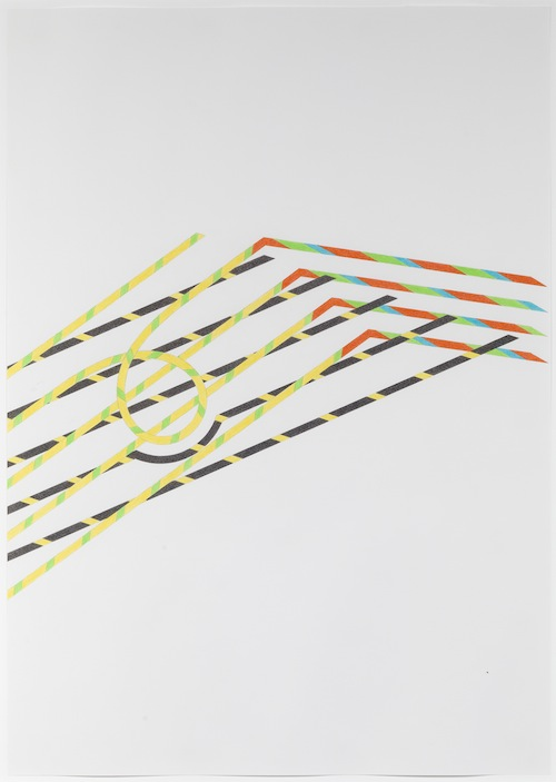 in Pictures for Tomma Abts at David Zwirner. Image for Tomma Abts, Untitled #7, 2013, Colored pencil and pencil on paper, 33 1/8 x 23 3/8 inches (84.1 x 59.4 cm). Courtesy David Zwirner, New York/London