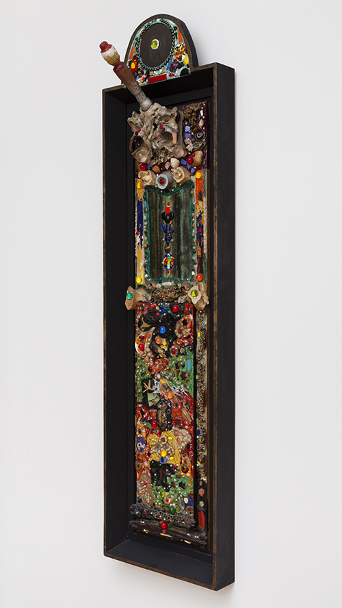 in Pictures for 'Move the world back from the abyss of destruction' at JTT. Image for Alfonso Ossorio, Offering, 1961, plastic and mixed media, 68 x 18 x 12 inches, Courtesy of the Ossorio Foundation