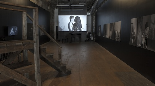Month In Pictures M. Lamar at PARTICIPANT INC. Image for 'Negrogothic, A Manifesto, the Aesthetics of M. Lamar,' 2014. Installation view, Participant Inc.