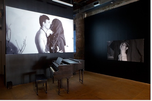in Pictures for M. Lamar at PARTICIPANT INC. Image for 'Negrogothic, A Manifesto, the Aesthetics of M. Lamar,' 2014. Installation view, Participant Inc.