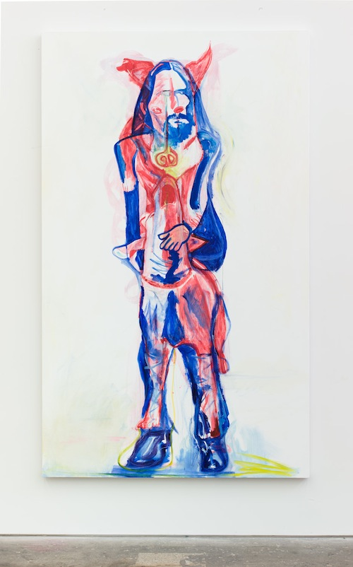 in Pictures for Jason Fox at CANADA. Image for Jason Fox, Master and Commanders, 2014, Oil, acrylic, pencil on canvas, 81.5 x 49.75, Framed. Courtesy of the Artist and Canada, New York