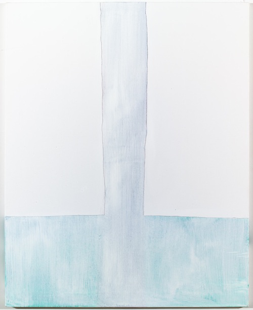 in Pictures for Jason Fox at CANADA. Image for Jason Fox, Untitled, 2014, Acrylic, pencil on canvas, 31.5 x 25.5 in, Framed. Courtesy of the Artist and Canada, New York