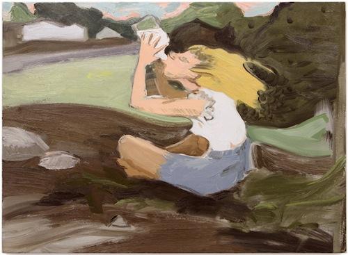 in Pictures for Jane Corrigan at Kerry Schuss. Image for Jane Corrigan, Milk, 2014, oil on linen, 28.5 x 39.25 in (72.4 x 99.7 cm). Image courtesy of Kerry Schuss, New York