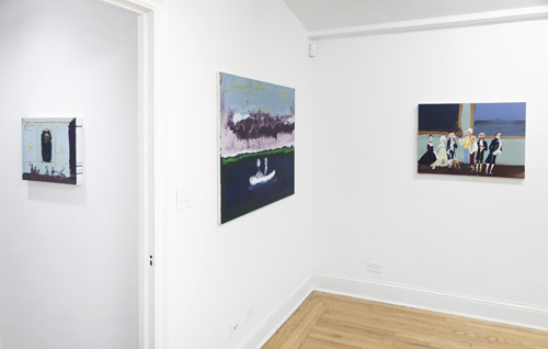 Month In Pictures Genieve Figgis at Half Gallery. Image for Installation view of Genieve Figgis: 'Good Morning, Midnight' at Half Gallery, 2014. Courtesy of Half Gallery