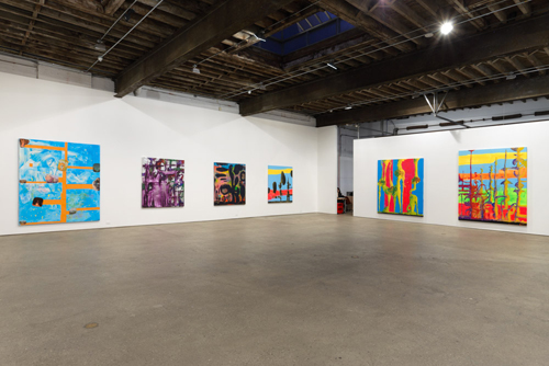 in Pictures for Chris Martin at Anton Kern Gallery. Image for Chris Martin, Installation view, 2014, Anton Kern Gallery, New York. Courtesy of Anton Kern Gallery, New York