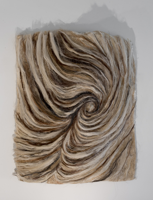 in Pictures for Gillian Jagger at David Lewis. Image for Gillian Jagger, 'Whirl 3' (2014), Horsehair and resin, 36 x 48 inches. Courtesy of the Artist and David Lewis