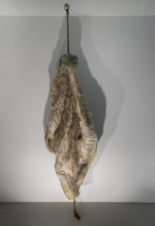 in Pictures for Gillian Jagger at David Lewis. Image for Gillian Jagger, 'Swirling' (2014), Horsehair and resin, 84 x 34 x 18 inches. Courtesy of the Artist and David Lewis