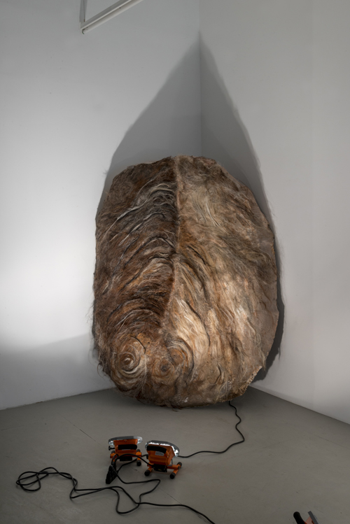 in Pictures for Gillian Jagger at David Lewis. Image for Gillian Jagger, 'Shielding' (2014), Horsehair and resin, 72 x 54 inches. Courtesy of the Artist and David Lewis
