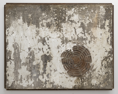 in Pictures for Gillian Jagger at David Lewis. Image for Gillian Jagger, 'Traffic Impressions' (1964), Mixed Earth pigment, plaster, dirt -canvas on masonite, 54 x 44 inches. Courtesy of the Artist and David Lewis