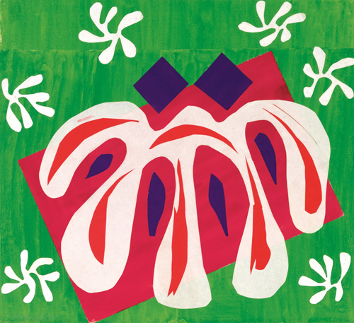 in Pictures for Henri Matisse at MoMA. Image for Henri Matisse (French, 1869-1954). Two Masks (The Tomato) (Deux Masques [La Tomate]), 1947. Gouache on paper, cut and pasted. 18¾ x 20 3/8 (47.7 x 51.8 cm). Mr. and Mrs. Donald B. Marron, New York. © 2014 Succession H. Matisse / Artists Rights Society (ARS), New York