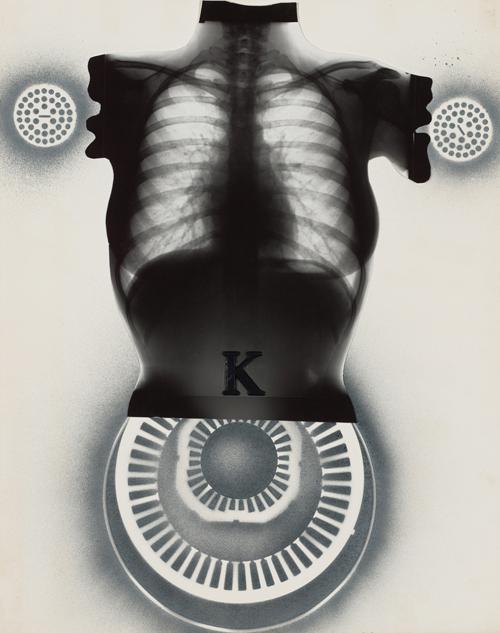 in Pictures for Kiki Kogelnik at Simone Subal Gallery. Image for Kiki Kogelnik, 'Untitled (Body parts),' c. 1965, Mixed media, plastic foil and enamel on paper, 28 1⁄2 x 22 1⁄2 inches (72 x 57 cm). Courtesy of the Kiki Kogelnik Foundation and Simone Subal Gallery.
