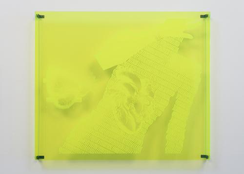 in Pictures for Kiki Kogelnik at Simone Subal Gallery. Image for Kiki Kogelnik, 'Interchangeable Hearts,' 1968, Silkscreen on Plexiglas, Edition of 2, 25 1⁄4 x 30 x 2 inches (64 x 76 x 5 cm). Courtesy of the Kiki Kogelnik Foundation and Simone Subal Gallery. Photo credit: Joerg Lohse.