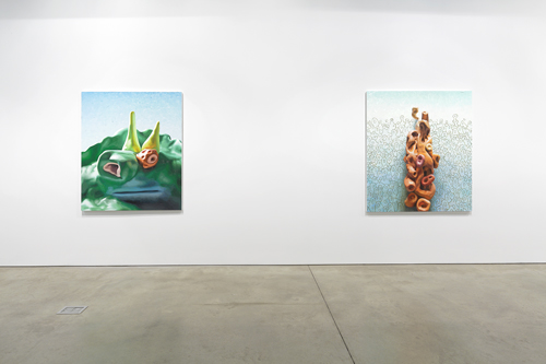 in Pictures for Alexander Ross at David Nolan Gallery. Image for Installation view of Alexander Ross: 'Recent Terrestrials' at David Nolan Gallery, 2014. Courtesy of the artist and David Nolan Gallery, New York.