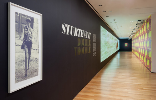 in Pictures for Sturtevant at MoMA. Image for Installation view of Sturtevant: Double Trouble, The Museum of Modern Art, November 9, 2014–February 22, 2015. © 2014 The Museum of Modern Art. Photo: Thomas Griesel. All works by Sturtevant © Estate Sturtevant, Paris