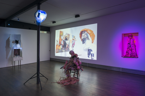 in Pictures for Tommy Hartung at On Stellar Rays. Image for Installation view of Tommy Hartung, 'THE BIBLE,' 2014. Photo credit: Adam Reich. Courtesy On Stellar Rays