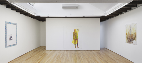 in Pictures for Sara Greenberger Rafferty at Rachel Uffner Gallery. Image for Installation view of Sara Greenberger Rafferty at Rachel Uffner, 2014. Courtesy of Rachel Uffner