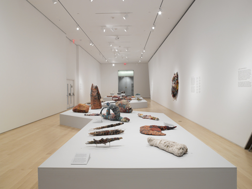 Month In Pictures Judith Scott at The Brooklyn Museum. Image for Installation view of 'Judith Scott—Bound and Unbound' at the Brooklyn Museum, 2014. Courtesy of the Brooklyn Museum