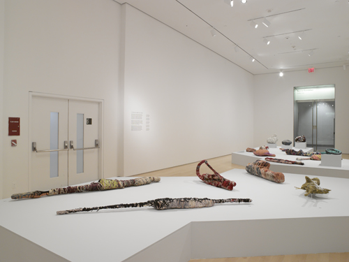in Pictures for Judith Scott at The Brooklyn Museum. Image for Installation view of 'Judith Scott—Bound and Unbound' at the Brooklyn Museum, 2014. Courtesy of the Brooklyn Museum