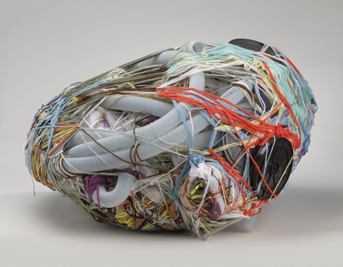 in Pictures for Judith Scott at The Brooklyn Museum. Image for Judith Scott (American, 1943‒2005). 'Untitled,' 2004. Fiber and found objects, 28 x 15 x 27 in. (71.1 x 38.1 x 68.6 cm).The Smith-Nederpelt Collection. © Creative Growth Art Center. (Photo: © Brooklyn Museum)