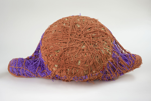 in Pictures for Judith Scott at The Brooklyn Museum. Image for Judith Scott (American, 1943‒2005). 'Untitled,' 1993. Fiber and found objects, 36 x 20 x 10 in. (91.4 x 50.8 x 25.4 cm). Creative Growth Art Center, Oakland. © Creative Growth Art Center. (Photo: © Benjamin Blackwell)