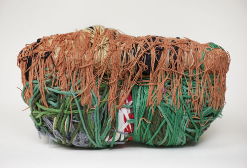 in Pictures for Judith Scott at The Brooklyn Museum. Image for Judith Scott (American, 1943‒2005). 'Untitled,' 2000. Fiber and found objects, 25 x 12 x 10 in. (63.5 x 30.5 x 25.4 cm). Creative Growth Art Center, Oakland. © Creative Growth Art Center. (Photo: © Benjamin Blackwell)