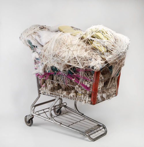 in Pictures for Judith Scott at The Brooklyn Museum. Image for Judith Scott (American, 1943‒2005). 'Untitled,' 2003-4. Fiber and found objects, 45 x 47 x 31 in. (114.3 x 119.4 x 78.7 cm). Collection of Orren Davis Jordan and Robert Parker. © Creative Growth Art Center. (Photo: © Addison Doty, Brooklyn Museum)