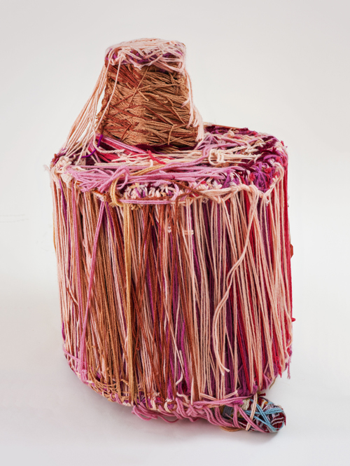 in Pictures for Judith Scott at The Brooklyn Museum. Image for Judith Scott (American, 1943‒2005). 'Untitled,' 2004. Fiber and found objects, 21 x 16 x 16 in. (53.3 x 40.6 40.6 cm). Creative Growth Art Center, Oakland. © Creative Growth Art Center. (Photo: © Benjamin Blackwell)