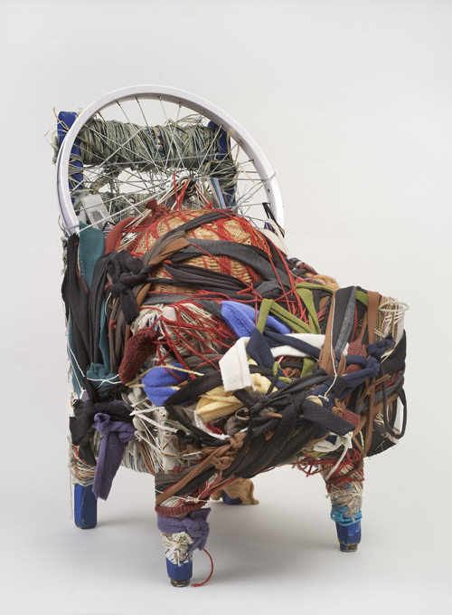 in Pictures for Judith Scott at The Brooklyn Museum. Image for Judith Scott (American, 1943‒2005). 'Untitled,' 2004. Fiber and found objects, 29 x 16 x 21 in. (73.7 x 40.6 x 53.3 cm). Collection of Orren Davis Jordan and Robert Parker. © Creative Growth Art Center. (Photo: © Benjamin Blackwell)