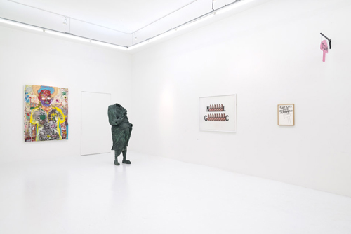 in Pictures for 'Early Man' at The Hole. Image for Installation view of 'Early Man' at The Hole, 2014. Courtesy of the artists and The Hole NYC