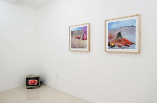 in Pictures for Hannah Barrett: 'Rustics' at Regina Rex. Image for Installation view of 'TRIOCEROS' at Regina Rex, 2014. Courtesy of Regina Rex