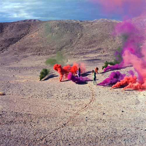 in Pictures for Hannah Barrett: 'Rustics' at Regina Rex. Image for Judy Chicago, 'Smoke Bodies from the Women and Smoke Series,' 1972, archival pigment print, 24 x 24 inches © Judy Chicago. Photo courtesy of Through the Flower Archives