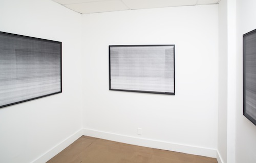 in Pictures for 'Spectral Haze Event Horizon' at Blackston. Image for Installation view of 'Spectral Haze Event Horizon' at Blackston, with works by Cynthia Daignault. Courtesy of Blackston