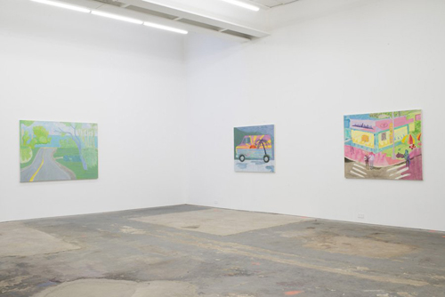 in Pictures for Tyson Reeder at CANADA. Image for Installation view of Tyson Reeder: 'New Paintings' at CANADA, 2014. Courtesy of Canada, New York and the artist